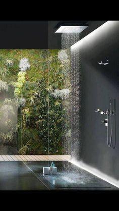 Modern Bathroom Shower Design Master Bathroom Contemporary Bathroom Design Ideas Walk In Shower Rain Showerhead Deavitanet Walk In Shower Designs Unique Modern Bathroom Interiors Dream Bathrooms, Beautiful Bathrooms, Luxury Bathrooms, Modern Bathrooms, Outdoor Bathrooms, Large Bathrooms, Coolest Bathrooms, Glamorous Bathroom, Outdoor Showers