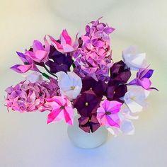 Origami Flower Arrangement