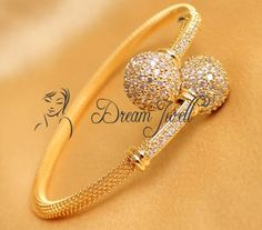 Buy BEAUTIFUL CZ OPEN TYPE BRACELET Online