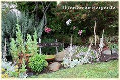 . El Jardin de Margarita .: Rincón dedicado a las plantas culinarias.