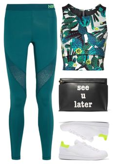 """""""Later"""" by cherieaustin ❤ liked on Polyvore featuring NIKE, Sweaty Betty, adidas Originals and Loewe Cute Swag Outfits, Sporty Outfits, Mom Outfits, Nike Outfits, Athletic Outfits, Everyday Outfits, Spring Outfits, Workout Outfits, Indian Fashion Dresses"""