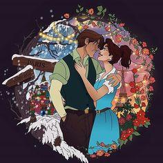 #Repost @lynn_eya (@get_repost) ・・・ Magical Moments: Anastasia & Dimitri✨ #magicalmoments #anastasia #dimitri #20thcenturyfox #disneyprincess #anastasiaromanov #princess #disney