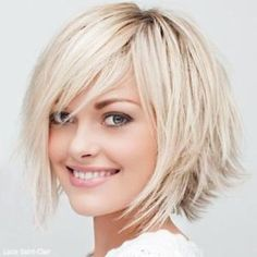 Medium Hair Styles- LOVE this cut.  #fashion #hair...I would actually consider this, but don't know if I have enough guts to cut that short by maggie