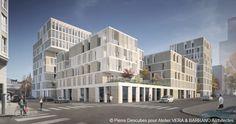 L'Atelier Vera & Barrand Architectes explore une nouvelle méthode pour fabriquer l'îlot K à Lyon