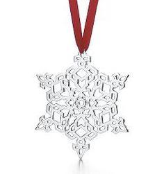 Tiffany Snowflake Ornament