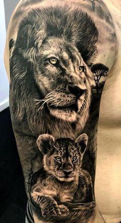 hyper-realistic lion tattoo © SEVEN TATTOO 💓🙊💓🙊💓 . hyperrealistisches Löwentattoo © SEVEN TATTOO 💓🙊💓🙊💓 - hyperrealistisches Löwentattoo © SEVEN TATTOO 💓🙊💓🙊💓 - tattoo for men tattoos tattoo tattoo japones tattoo tattoo traditional Lion Head Tattoos, Mens Lion Tattoo, Cute Tattoos, Tattoos For Guys, Amazing Tattoos, Lion Sleeve, Lion Tattoo Sleeves, Sleeve Tattoos, Lion Tattoo Design