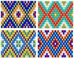 bead loom patterns, thread a bead loom, off loom bead patterns