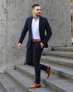 Formal Dresses For Men, Formal Men Outfit, Casual Wear For Men, Men Formal, African Clothing For Men, Mens Clothing Styles, Terno Slim, Blazer Outfits Men, Costume Sexy