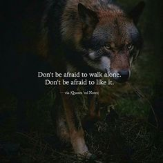badass quotes Post anything (from anywhere! Wisdom Quotes, True Quotes, Great Quotes, Motivational Quotes, Inspirational Quotes, Path Quotes, Lone Wolf Quotes, Wolf Spirit Animal, Warrior Quotes