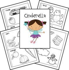 Cinderella Unit and Lapbook Printables - matches A First Book of Fairy Tales from the Preschool Program
