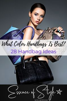Are you wanting to know what color handbags you should have in your arsenal? Look no further as I have 28 handbags ideas to get ideas from! Types Of Handbags, Best Handbags, Suit Fashion, Daily Fashion, Business Casual Men, Men Casual, Black And White Bags, Men Looks, Mens Clothing Styles