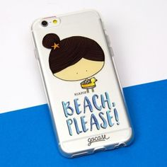 Capinha para celular Beach, please!