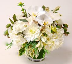 vibrant beachy wedding day bouquets and arrangements - Google Search