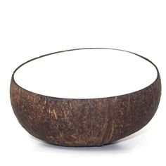 Our white coconut bowls feature an FDA approved food safe white lacquer. Eat out of a real coconut shell. Coconut Cups, Coconut Shell, Tropical Paradise, Safe Food, Bowl Set, Serving Bowls, Shells, Cool Stuff, House Styles