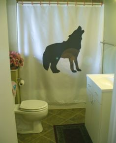 wolf howl Shower Curtain canis lupus lupine wolves by eternalart
