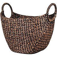 Oval Basket - Brown