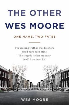 Join our Common Grounds Book Club, Wed., Feb. 18th, 1:00 p.m. at the Main Library (625 Minnesota Ave.) for a discussion of The Other Wes Moore by Wes Moore.