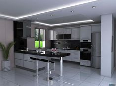 15 The House Will Appear Excellent, Kitchen Decor, Home Decor Kitchen, Contemporary Kitchen Design, Kitchen Furniture Design, Kitchen Room Design, Kitchen Design, Modern Kitchen Room, Interior Design Kitchen Small, Contemporary Kitchen