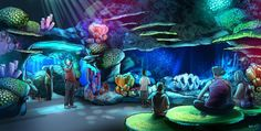 Concept rendering of the new Sea Life Orlando Aquarium opening in the spring of 2015.