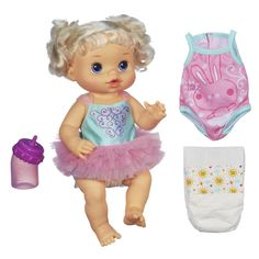 NIB Hasbro Baby Alive  Dressed for Ballet Doll - Blonde with extra outfit #HasbroBABYALIVE