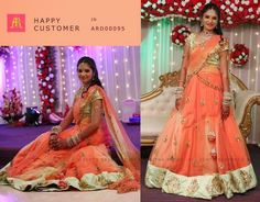 Trendy Half Saree by Anitha Reddy   Saree Blouse Patterns