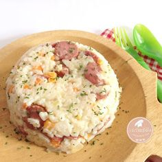 Resep nasi. resep nasi gurih dengan susu. Resep MPASI. MPASI 12 bulan
