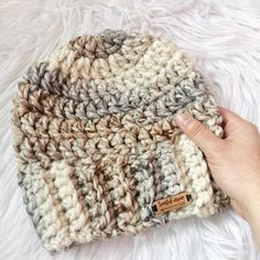 45 FREE Crochet Hat Patterns ideas and images for Every Season 2019 - Page 11 of 40 - Daily Crochet! 45 FREE Crochet Hat Patterns ideas and images for Every Season 2019 - Page 11 of 40 - Daily Crochet! Chunky Crochet Hat, Crochet Beanie Pattern, Chunky Yarn, Crochet Patterns, Crocheted Hats, Afghan Patterns, Mens Crochet Beanie, Crochet Hat For Women, Girl Crochet Hat