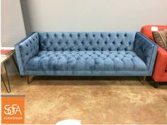 Nice The Charleston Sofa Is Our Modernized Take On A Chesterfield. Come Check It  Out At Our San Francisco Location!