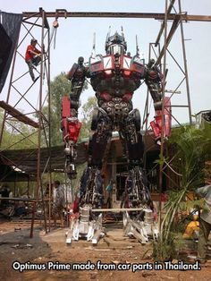 real-life Optimus Prime