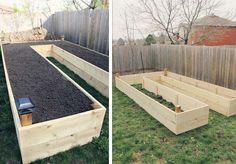 U-Shaped Raised Garden Bed