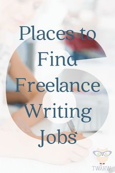 Excellent ideas for finding freelance writing jobs online
