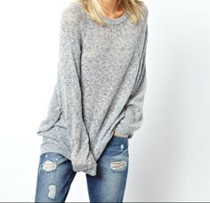 THE OVERSIZED JUMPER THING | I Heart Bargains