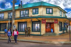 Coffee house  A coffe house in Chilean Patagonia, Coyhaique town.