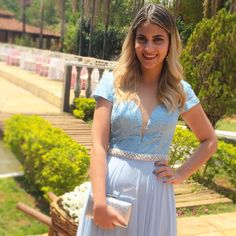 Look do Dia: Casamento – Vestido longo Azzenat – Larissa Ruston | Blog de Moda…