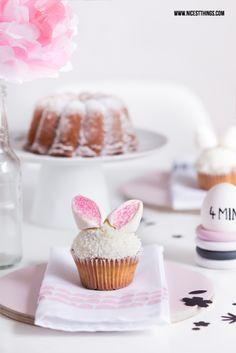 süße Häschen-Cupcakes! :)
