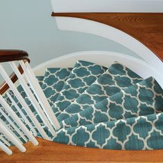 Carpet Style: Taza II on the stairs
