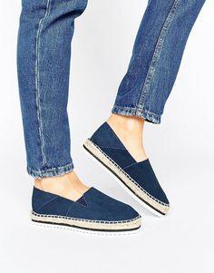 Discover Fashion Online. Alpargatas De MujerLimpiador De GamuzaAnte Negro Sandalias De Los ZapatosModa OnlineAsosZapatos ...
