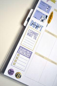 FREE printable 'COUNTDOWN' planner printables I designed for me & my BIG ideas | Amanda Rose Zampelli