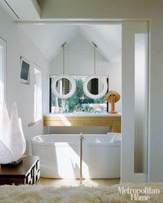 placing mirrors in front of windows   @meccinteriors   design bites
