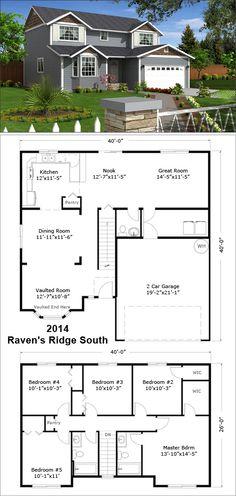 Custom Home Builders Custom Built Homes, Custom Home Builders, Home Inc, Small Houses, Ravens, House Floor Plans, Idaho, Sims 4, Oregon