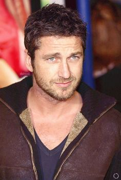 Gerard Butler... too cute for words ♥ #Gerard #Butler #Gerry