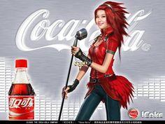 Coca-Cola Advertising Wallpapers : Coca Cola Superstar - Coca-Cola Ads Celebs Wallpaper Wallpaper