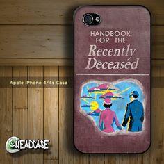 Beetlejuice Handbook for the Recently Deceased by HeadcaseDesignz, $19.99 (I NEEEEEEED THIS!!!!!!!!!!!!!!!!!)