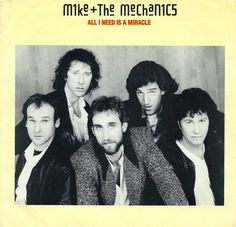 Vintage Vinyl Record Collection - Mike + The Mechanics - All I Need Is A Miracle, Atlantic Records, Catalog Country - US, 45 RPM Record, Released 1985 Best 80s Music, Mike & The Mechanics, Vinyl Record Collection, Rock Videos, Atlantic Records, Phil Collins, Vintage Vinyl Records, Childhood Memories, Rock And Roll