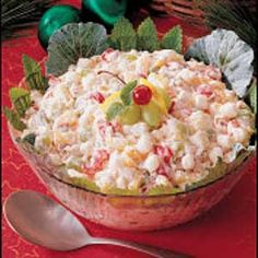 : Christmas Salad Recipes, Christmas Salad Garnishing thechristmasideas.blogspot....