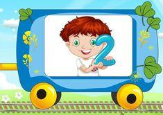 Развитие детей — Счёт. Раздаточный материал.   OK.RU Animated Numbers, Link Web, Arabic Alphabet For Kids, School Signs, Picture Design, Math Activities, Crafts For Kids, Family Guy, Animation
