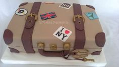 Torta mamá Farewell Cake, Satchel, Cakes, Suitcases, Soaps, Room, Cake Makers, Kuchen, Cake