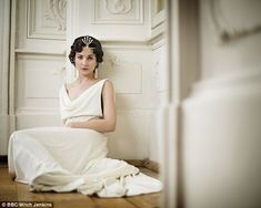 What a line up: Tuppence Middleton plays Helene Kuragin, the socially ambitious wife of Pierre Bezukhov