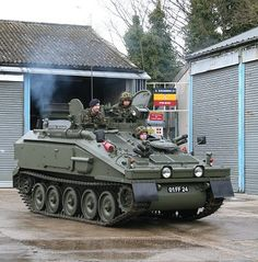 Army - FV103 Combat Vehicle Reconnaissance Tracked Spartan (Armoured Personnel Carrier [APC])