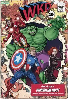 Cover illustration of The Avengers